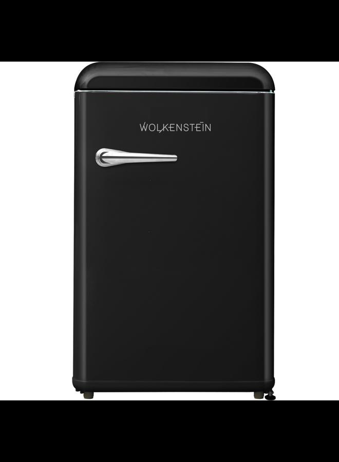 Wolkenstein WKS125RT SB retro koelkast Zwart