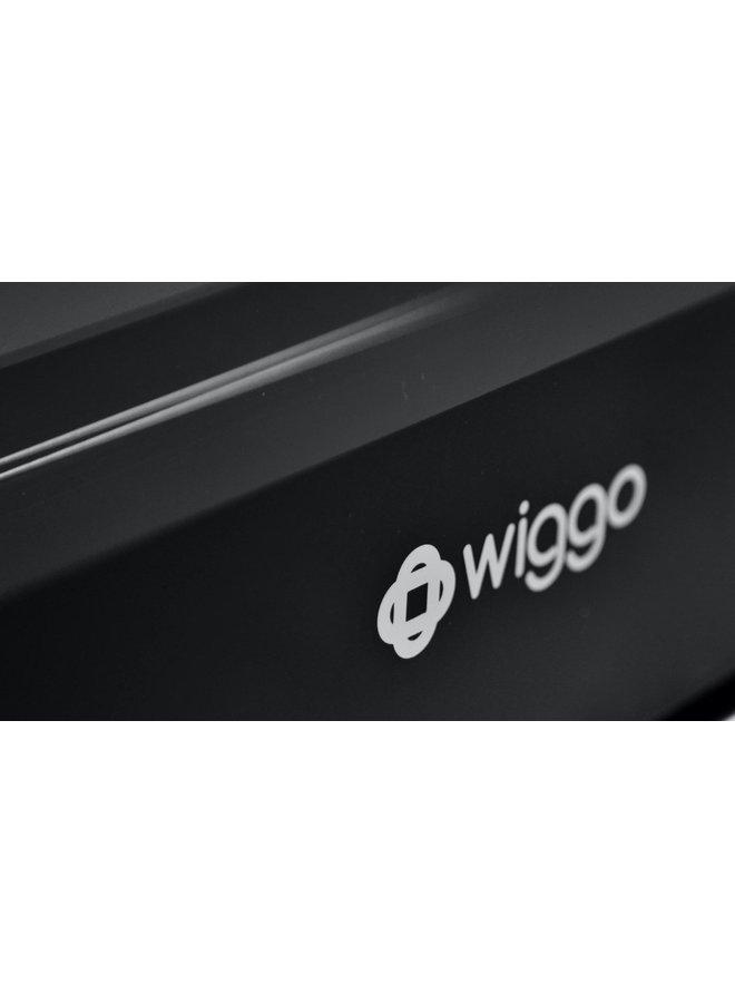 Wiggo WO-E909R(BB) Serie 9  Gasfornuis - Zwart 90 cm