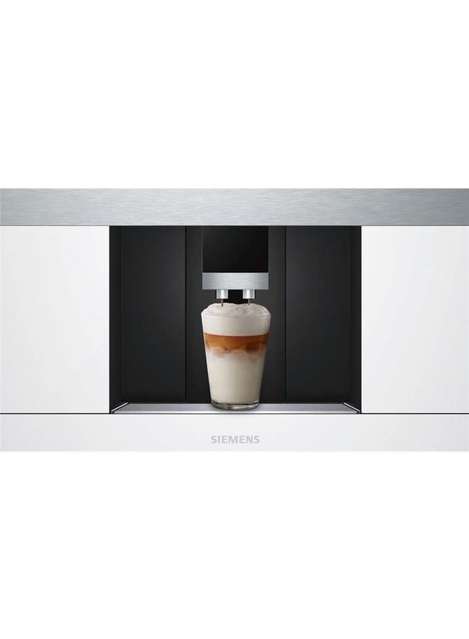 Siemens CT636LEW1 inbouw koffie volautomaat