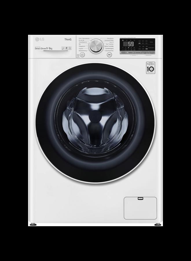 LG V5WD96TW0 wasdroogcombinatie 9- 6 kg