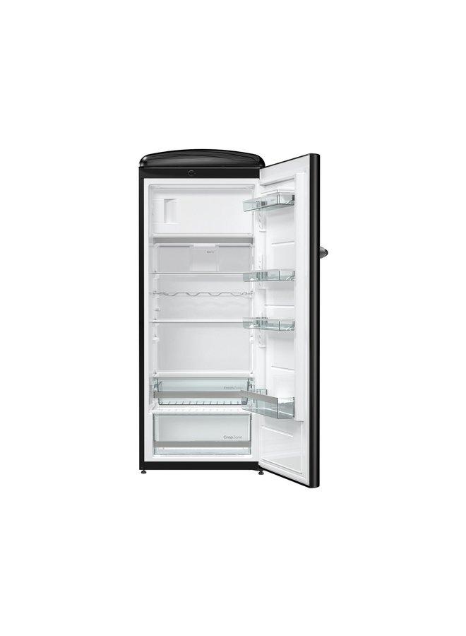 Gorenje ORB 153 BK Retro koelkast Zwart