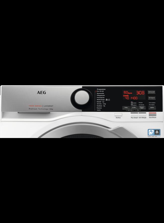 AEG L7FE75685 wasmachine ProSteam 8 kg 1600 toeren