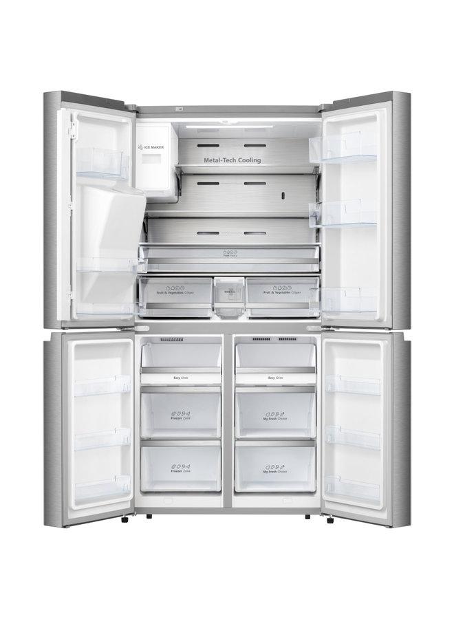 Hisense RQ760N4AIF Amerikaanse koelkast 4-deurs
