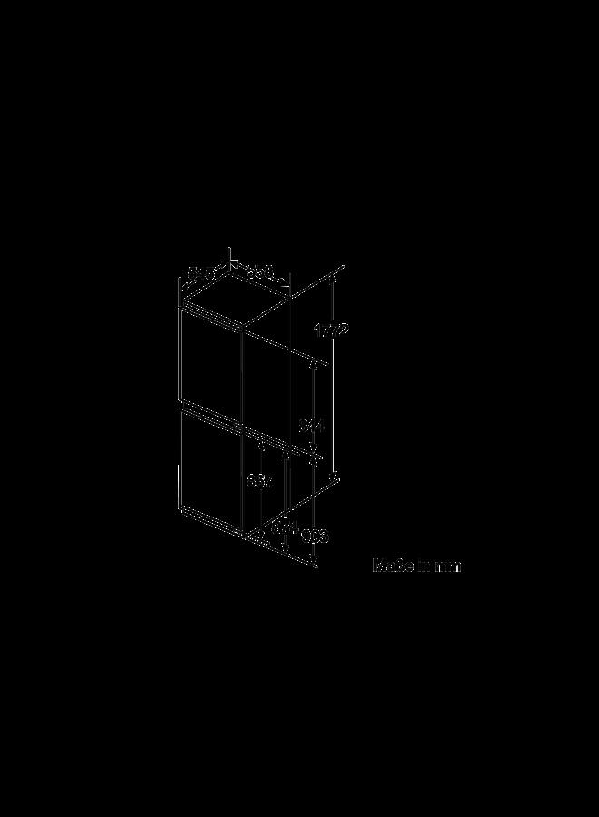 Siemens KI85NADE0 inbouw koelvriescombinatie 178 cm