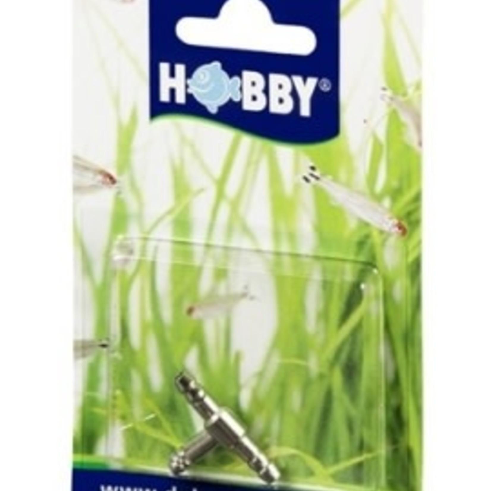 """Hobby Raccord """"T"""" métal 4-6mm 1pc HOBBY"""
