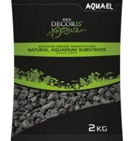 AquaEl Gravier BASALT 2-4mm 2kg AQUAEL