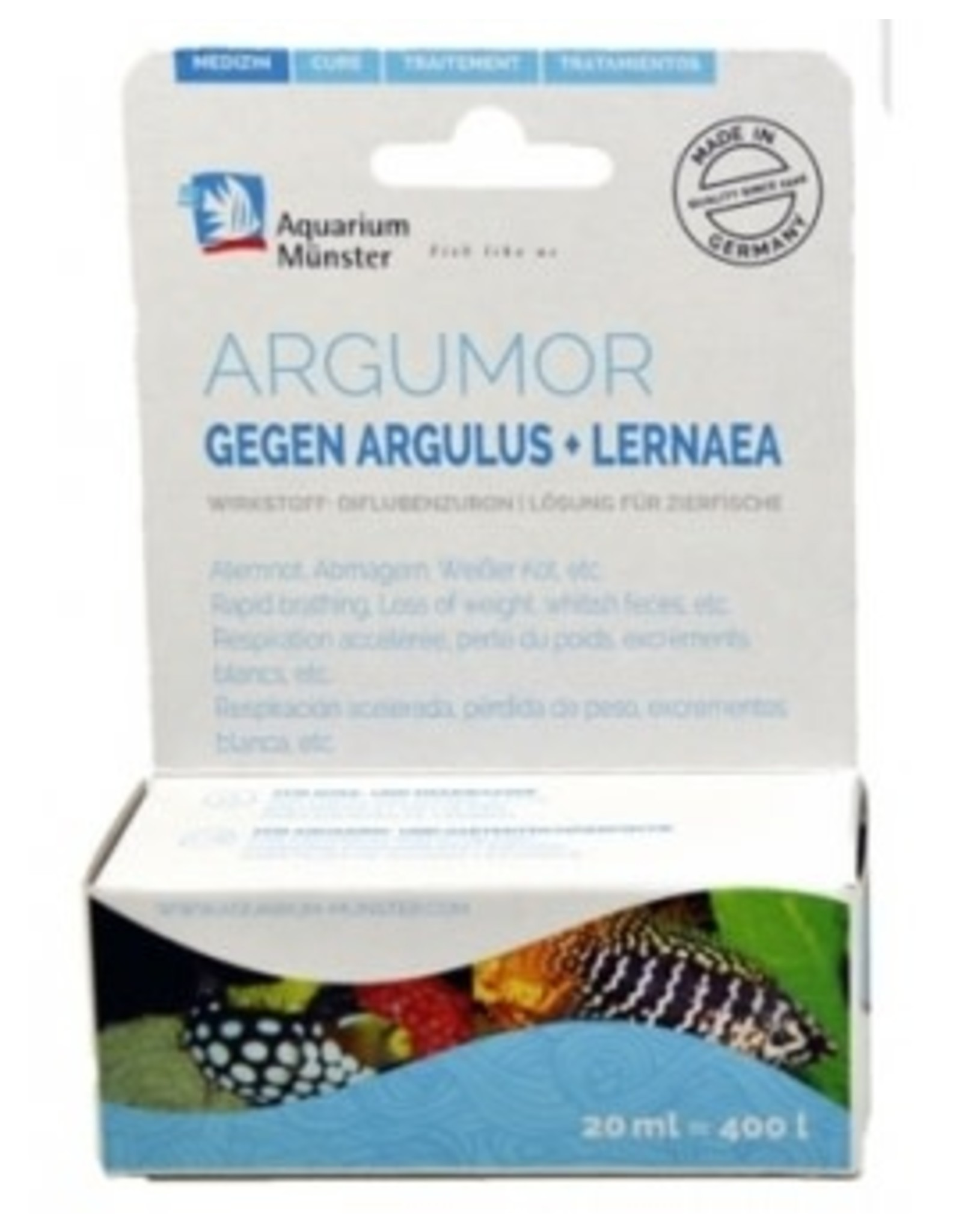Aquarium Munster ARGUMOR 20ml (ED+EM) =400L