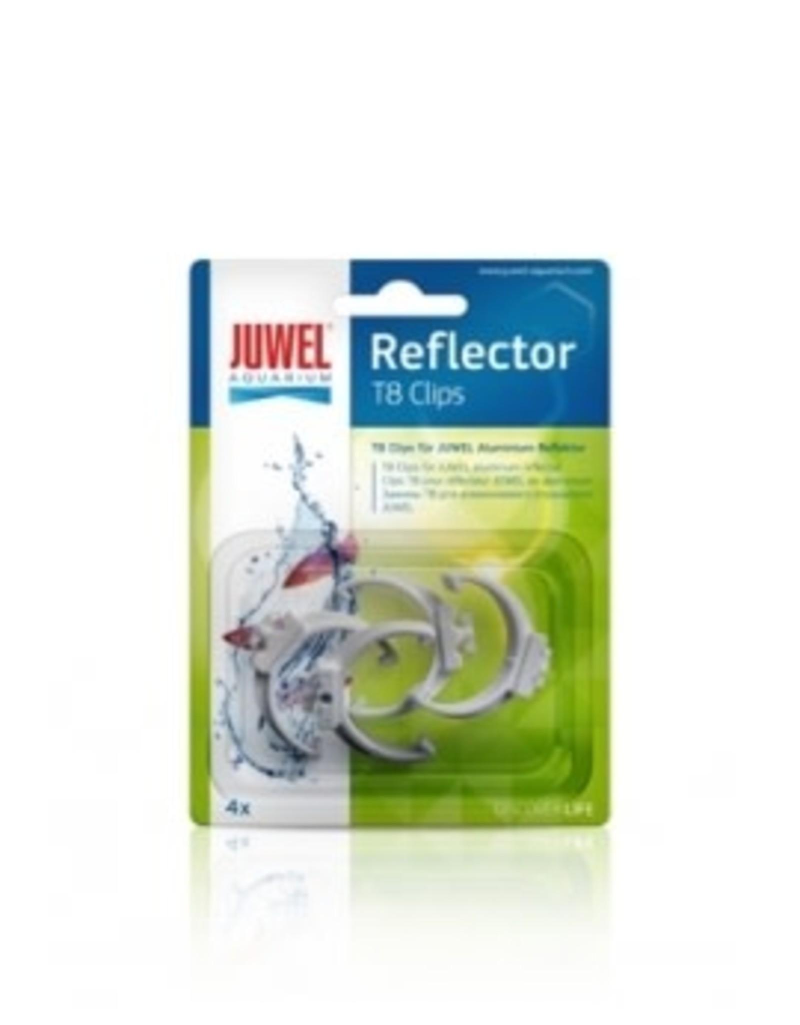 Juwel Clips T8 pour reflecteur Hiflex 4pcs JUWEL