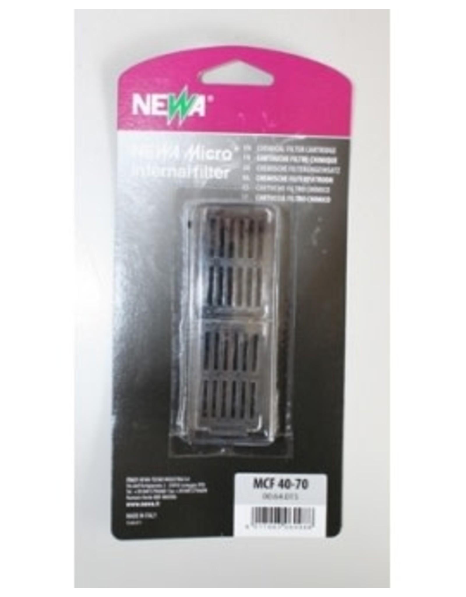 Newa CARTOUCHE charbon 2pcs pour MCF40 & 70