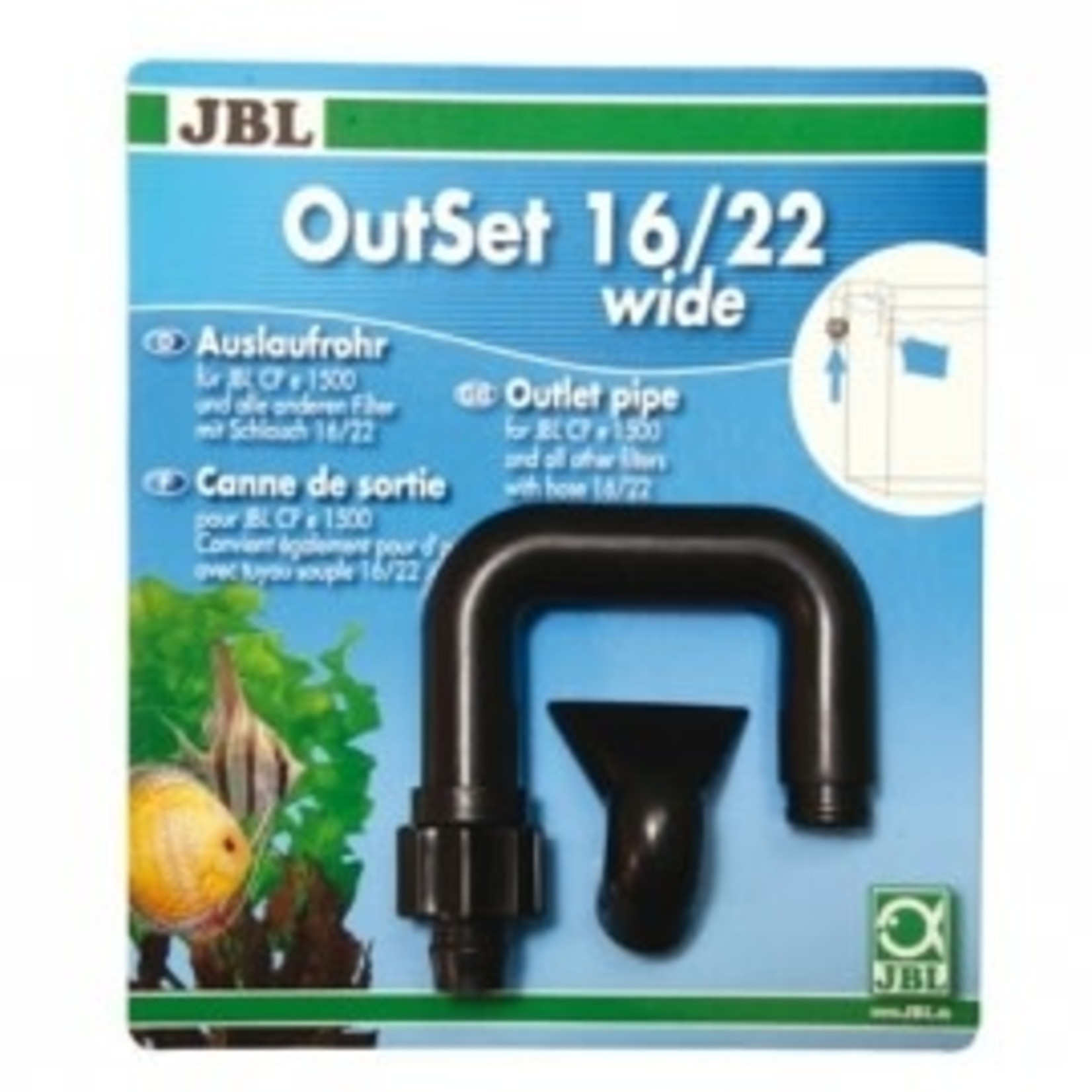 JBL Canne JBL OutSet wide pour CP serie e