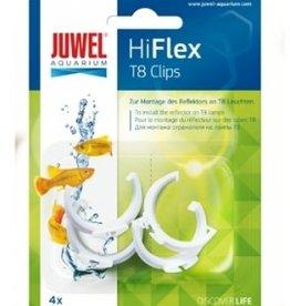 Juwel Clips T8 pour reflecteur 4pcs JUWEL