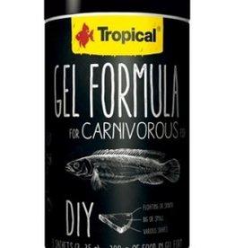 Tropical GEL FORMULA CARNIVOROUS 1000ml (3x35g)