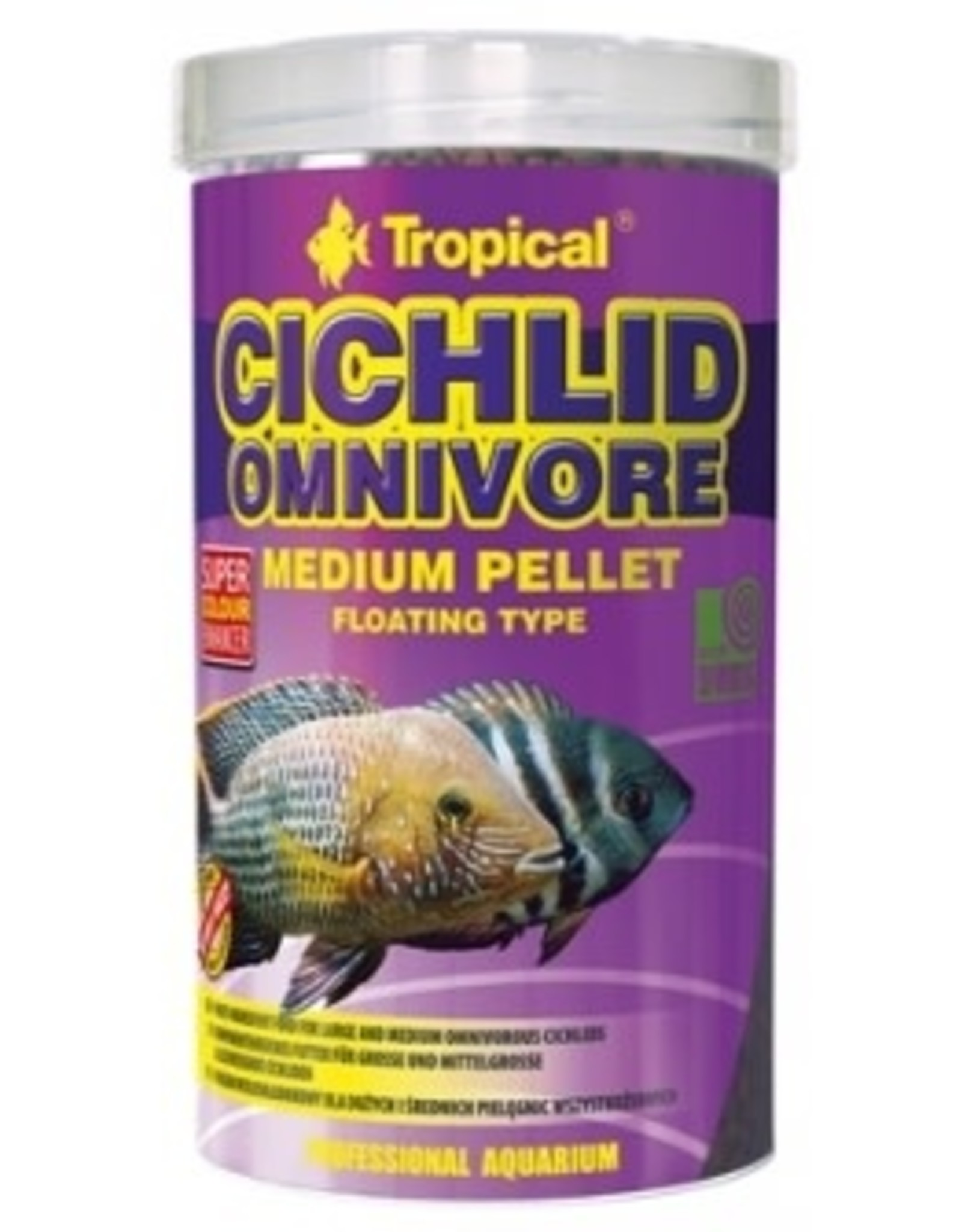 Tropical CICHLID OMNIVORE