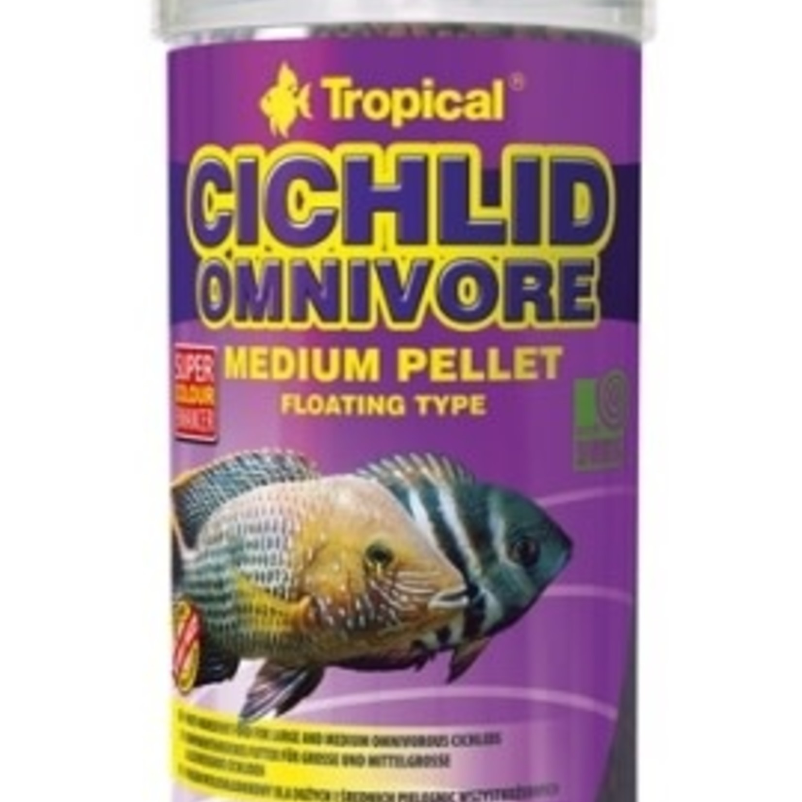 Tropical CICHLID OMNIVORE