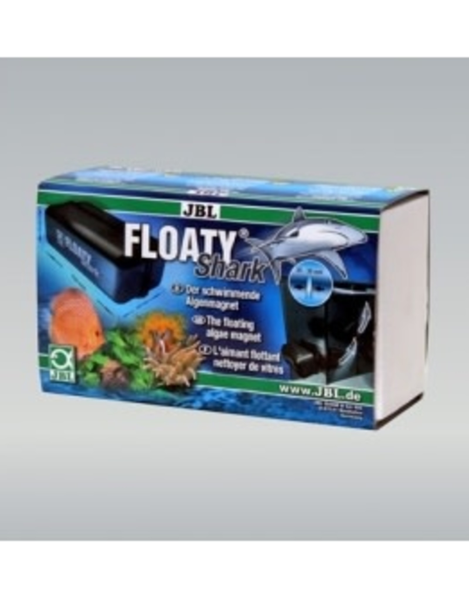 JBL Floaty SHARK-magneet (voor glas van 20 tot 30 mm)