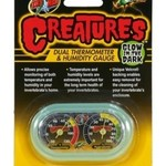 Zoomed Creatures Dual Thermometre & Hygrometre Gauge Zoo