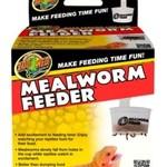 Zoomed Hanging Mealworm Feeder-----