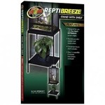 Zoomed STAND WITH SHELF REPTIBREEZE