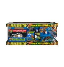 Zoomed ReptiHabitat kit Tortues Aquatiques Zoo