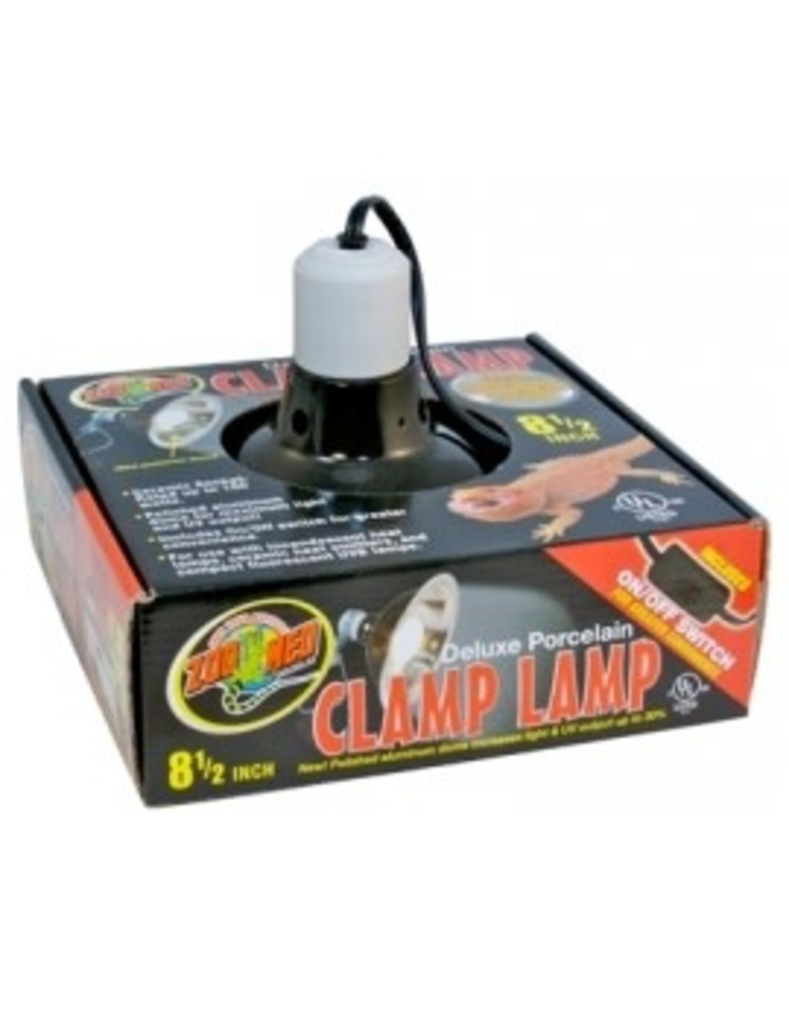 Zoomed CLAMP LAMP support DELUXE PORCELAINE