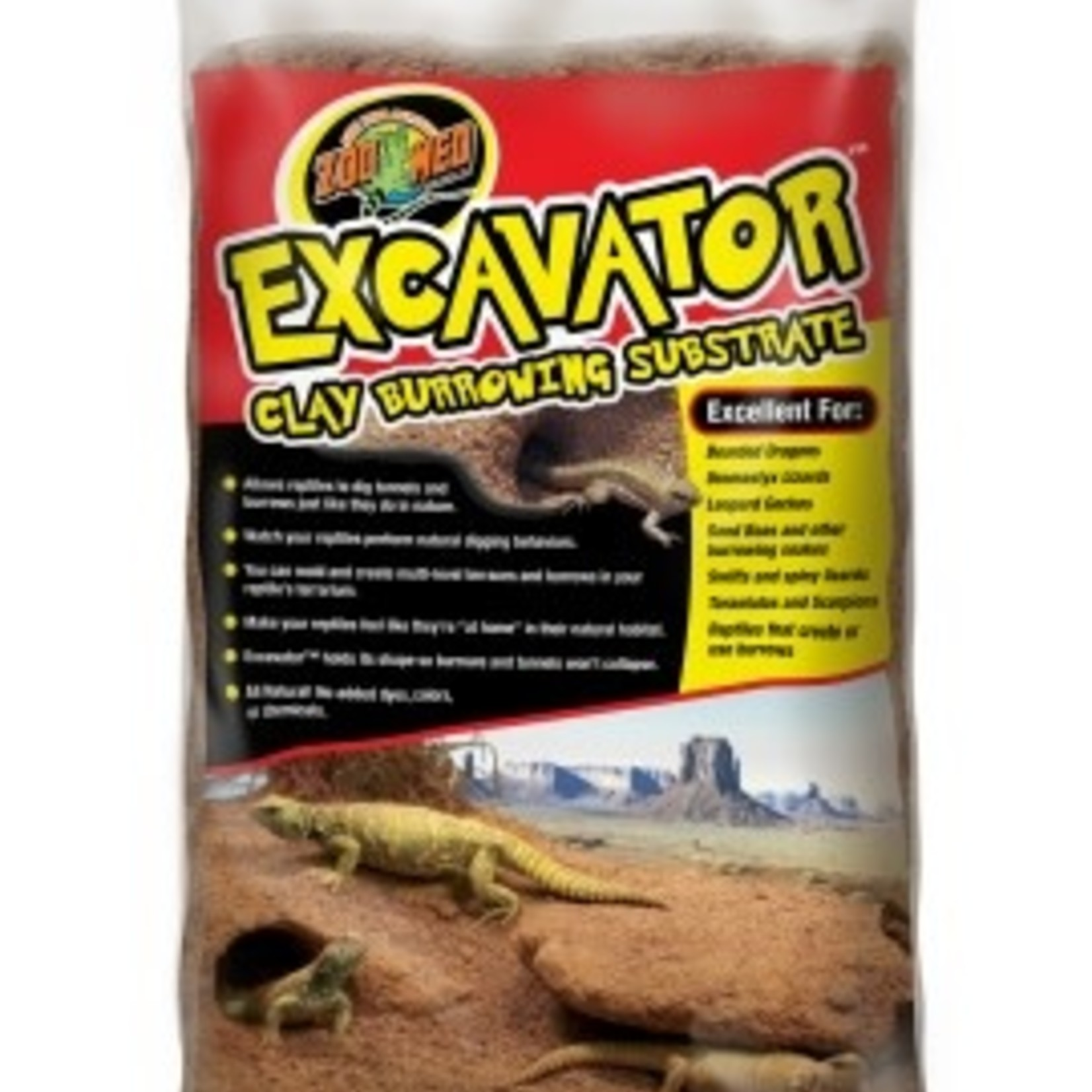 Zoomed EXCAVATOR CLAY BURROWING