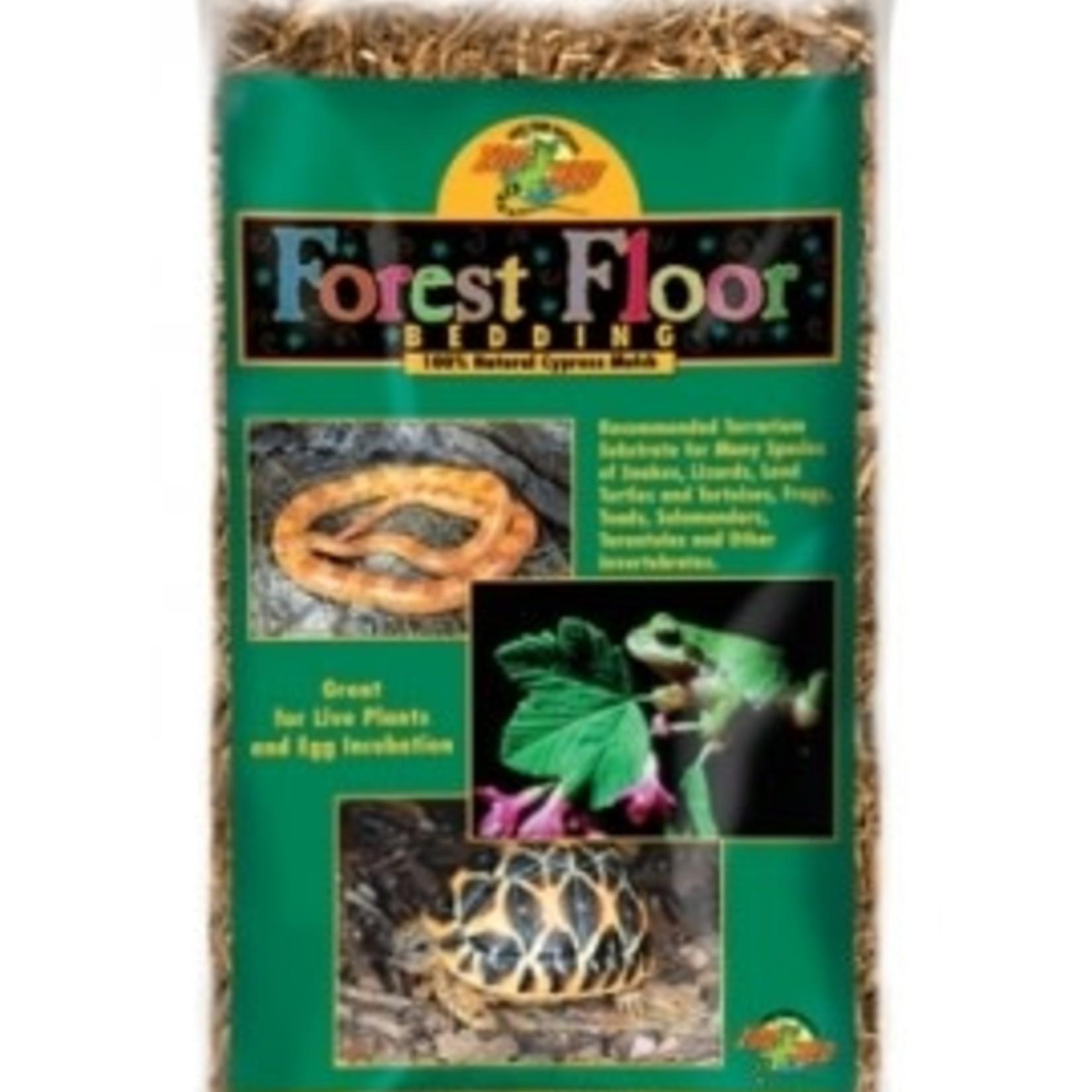 Zoomed FOREST FLOOR (Paillis de cypres)
