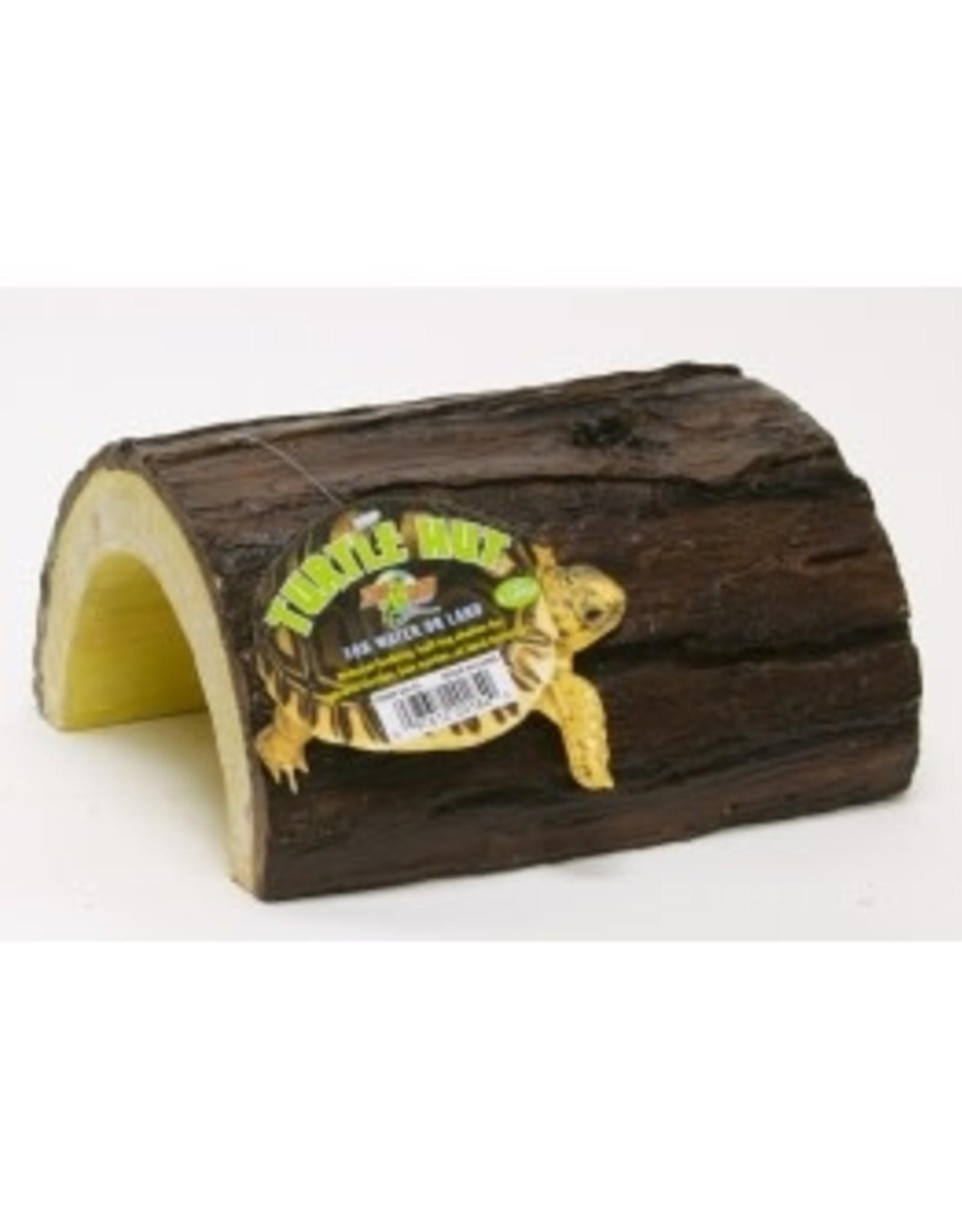 Zoomed CAVERNE bois resine TURTLE HUT
