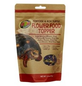 Zoomed FLOWER FOOD TOPPER 40grs tortues terrestres