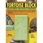 Zoomed TORTOISE BLOCK 142grs calcium au cactus