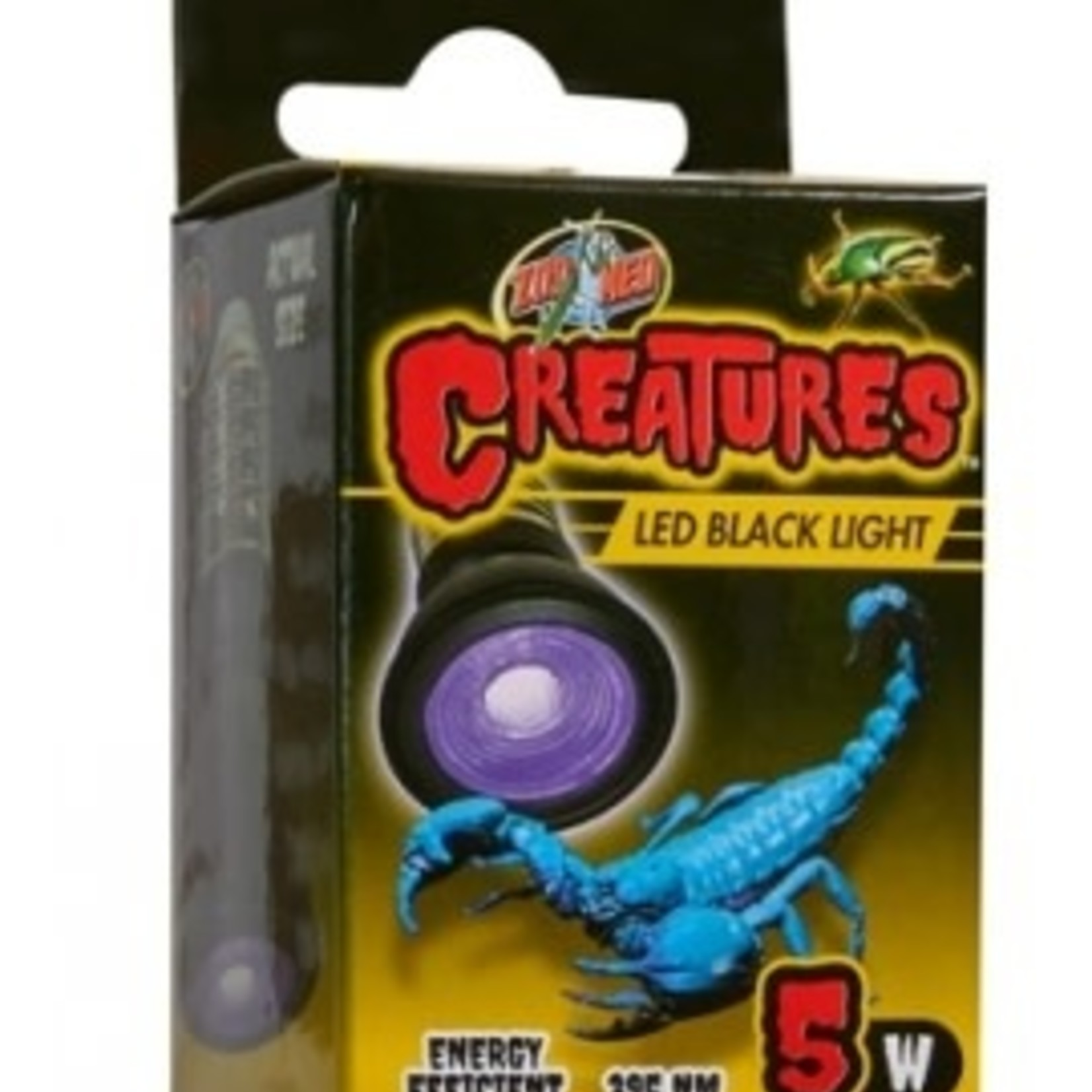 Zoomed Creatures Black Light 5w Zoomed
