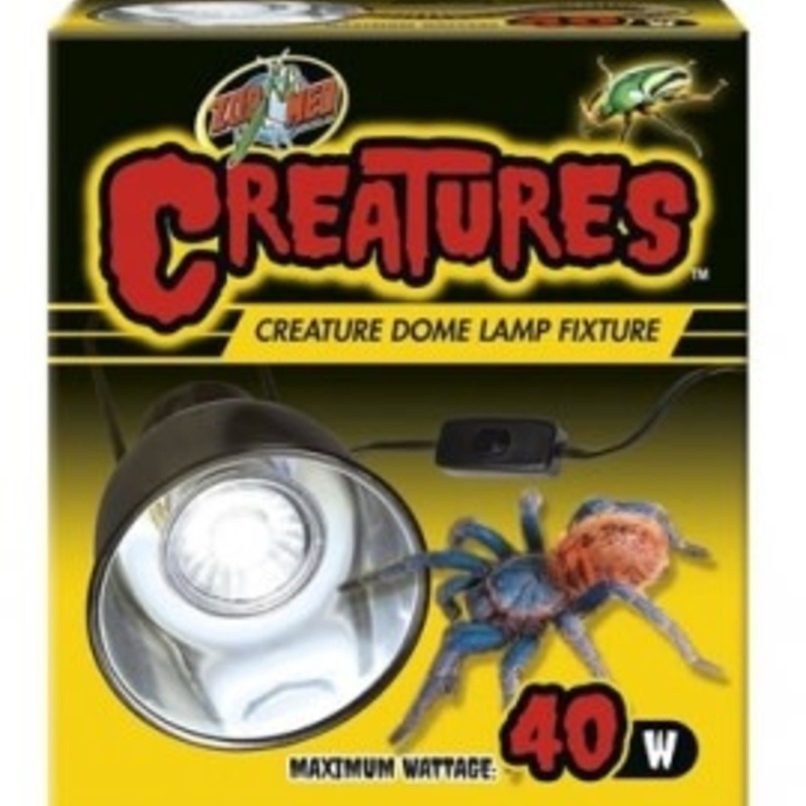 Zoomed Creatures Dome Lampe Fixture Zoomed