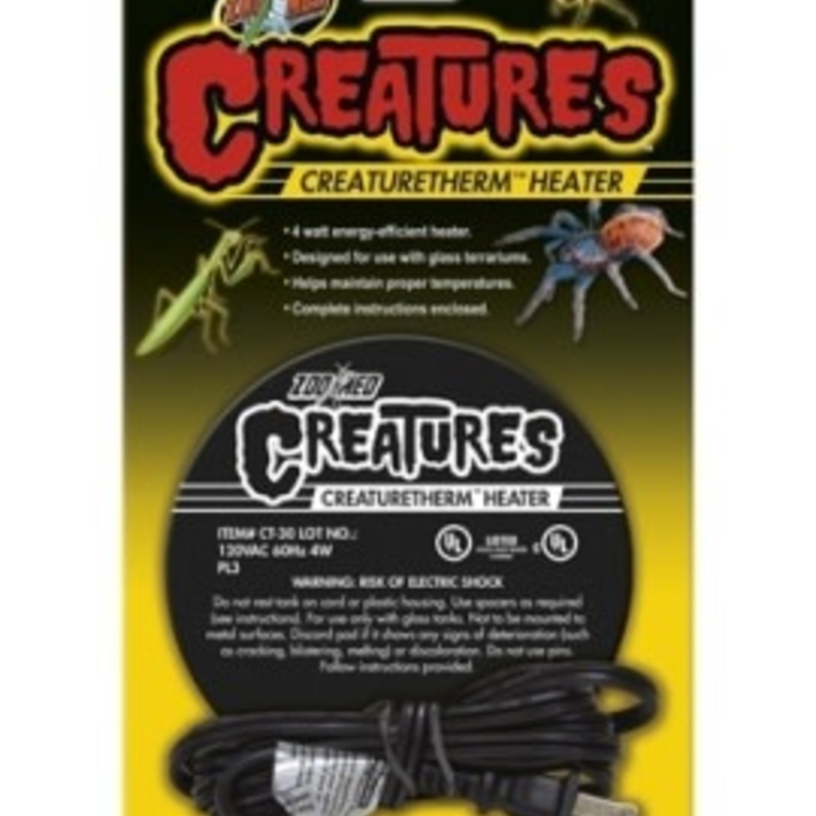 Zoomed Creatures Therm Heater 4w Zoomed