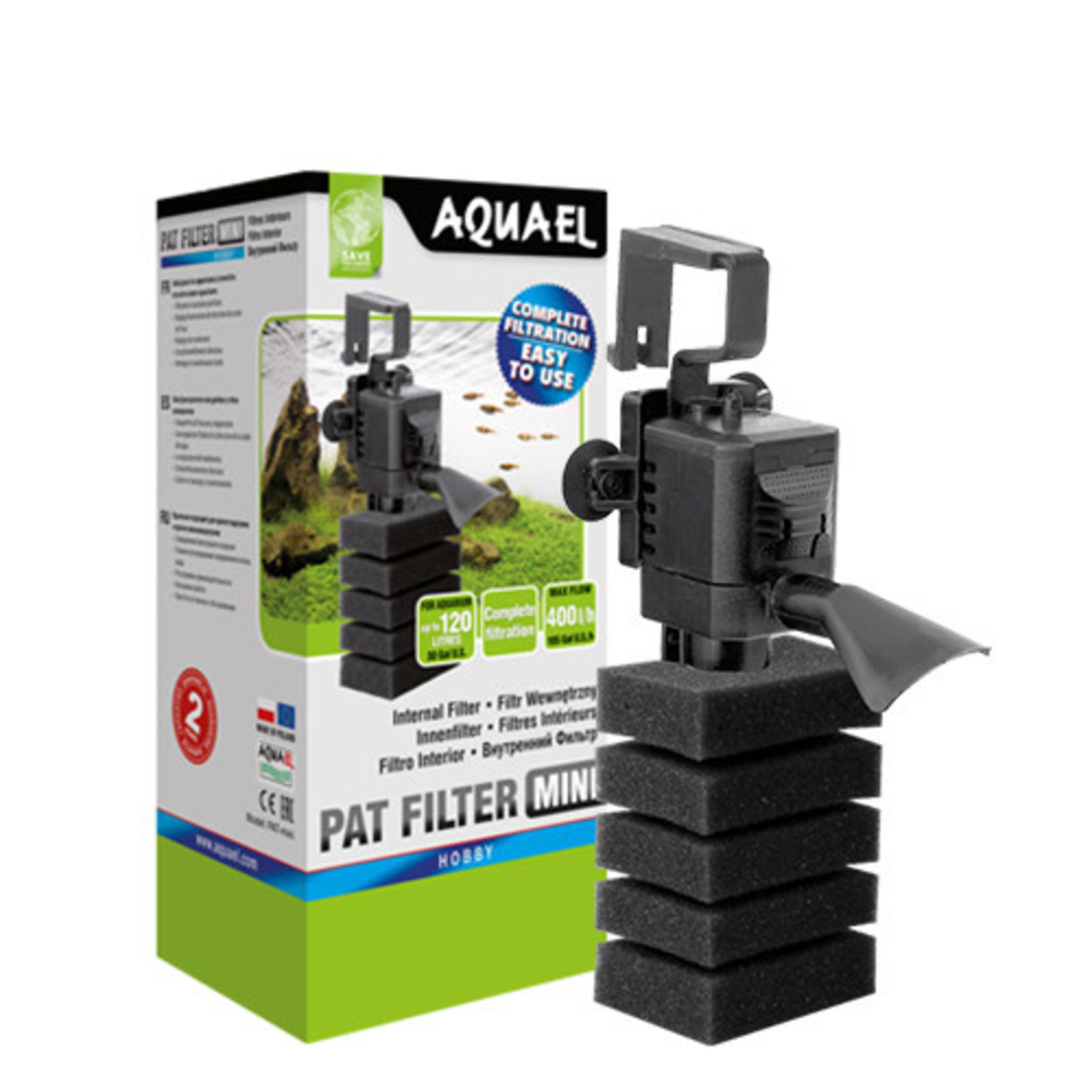 AquaEl Filtre PAT MINI 400l/h