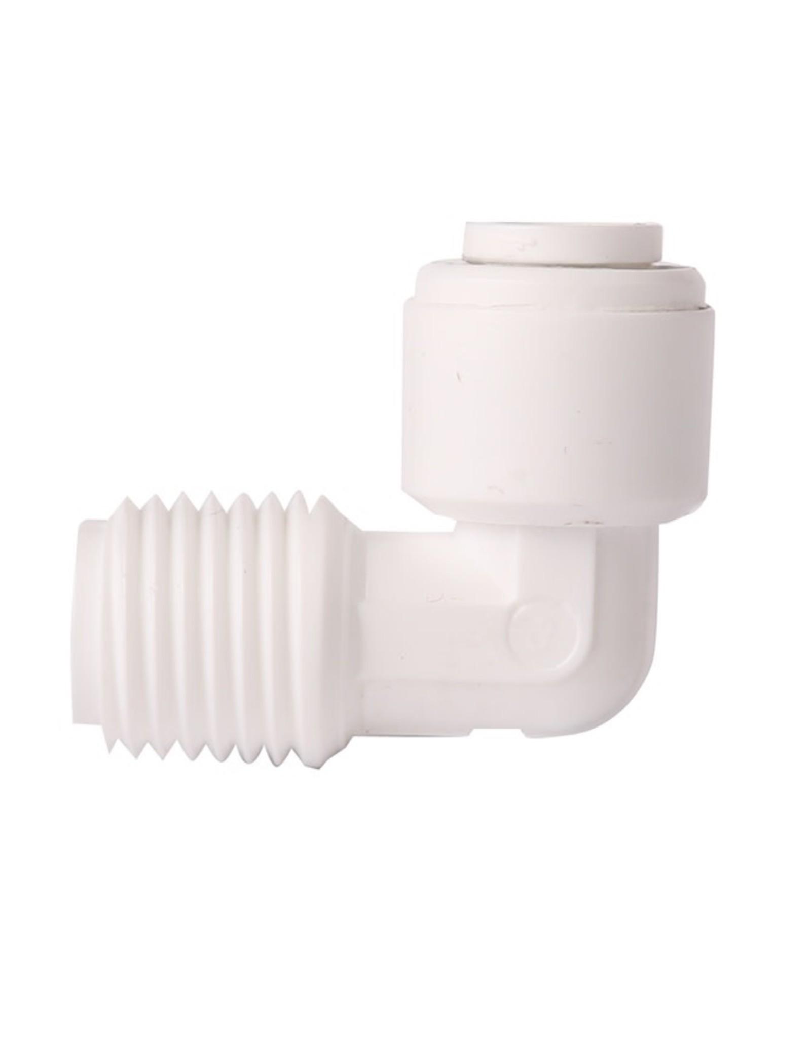 Aqua-Art 1 / 8'x 1/4 'elbow for RO filter pipes
