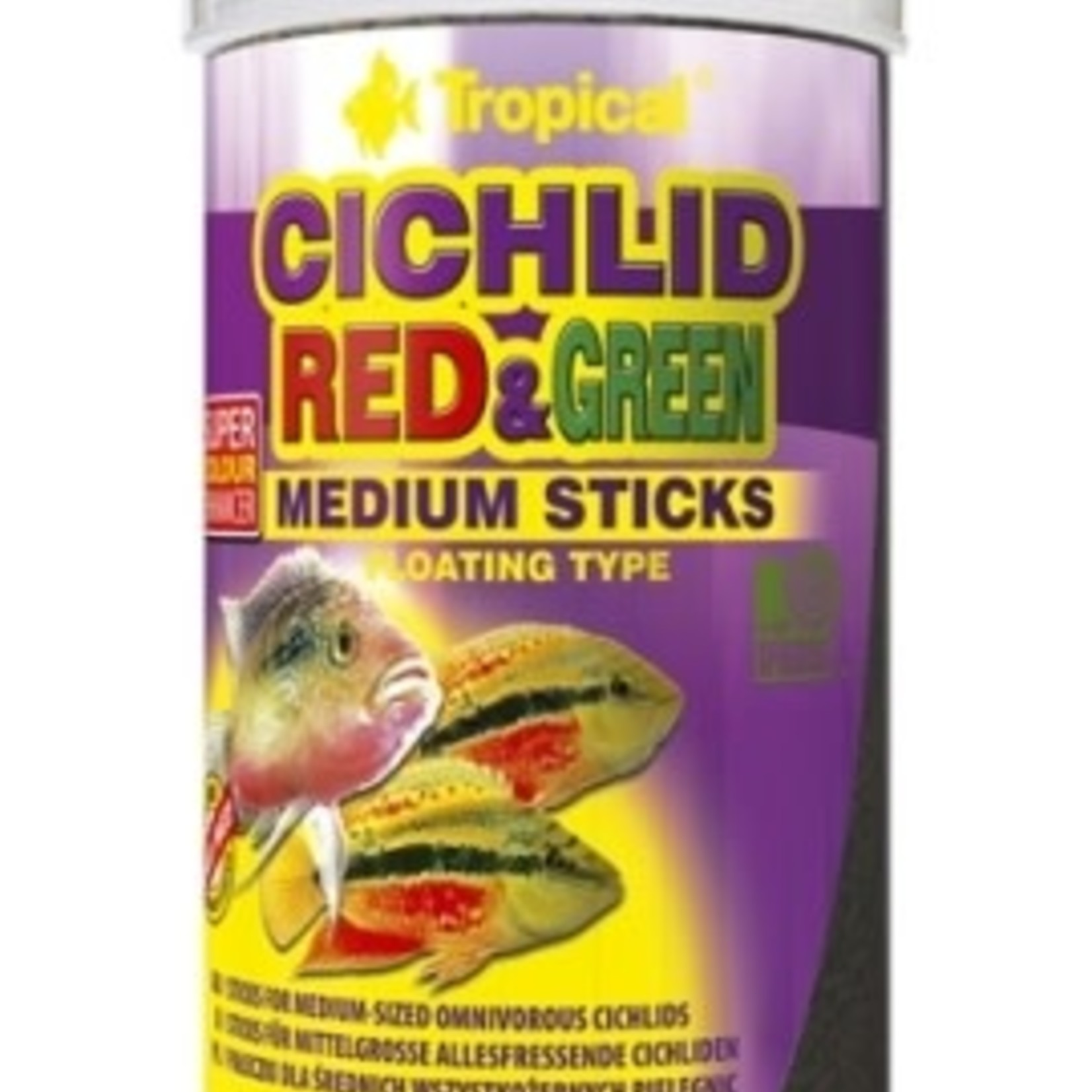 Tropical CICHLID RED & GREEN