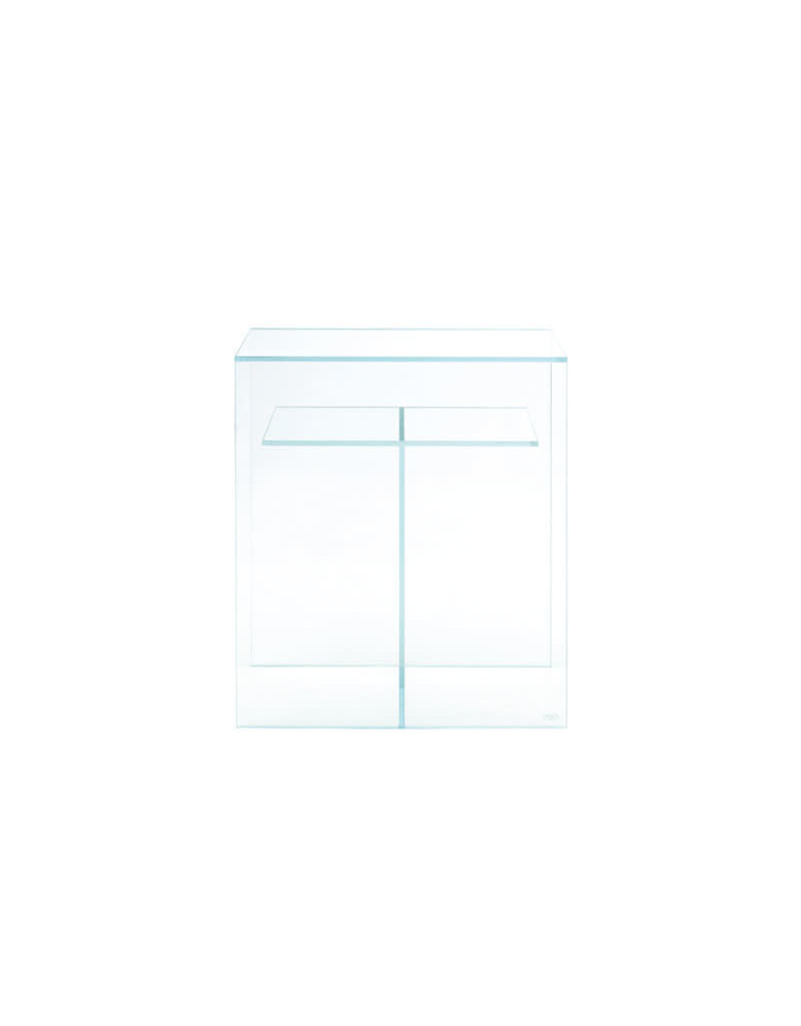 ADA Cube Cabinet Clear 60 mit einem Solar RGB Stand und zwei Holzplatten