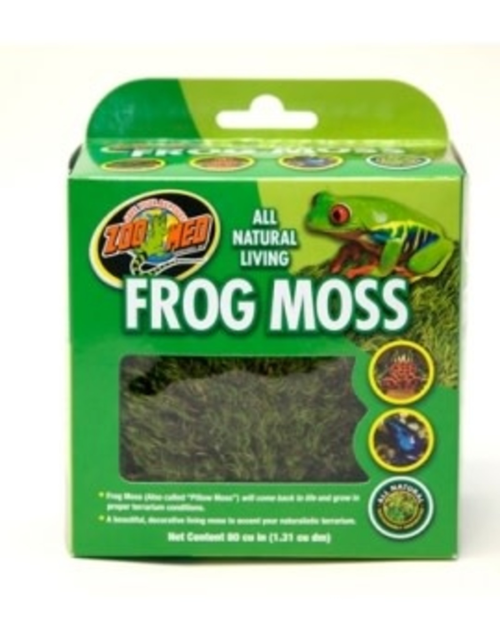 Zoomed All Natural Frog Moss 1.31L