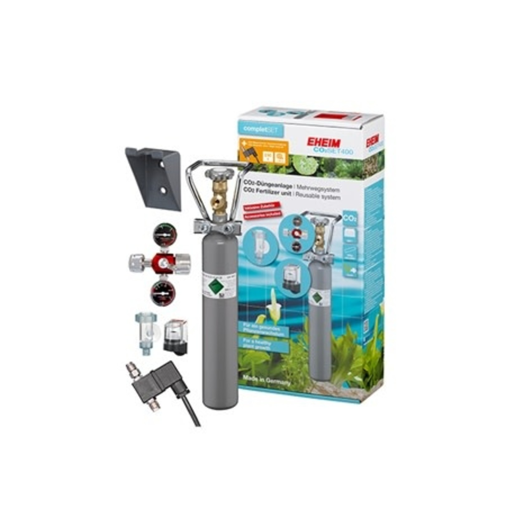 Eheim CO2 SET 400 With solenoid valve