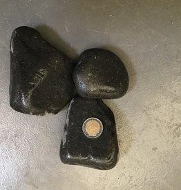 Bubba Basalt pebbles 50-100mm