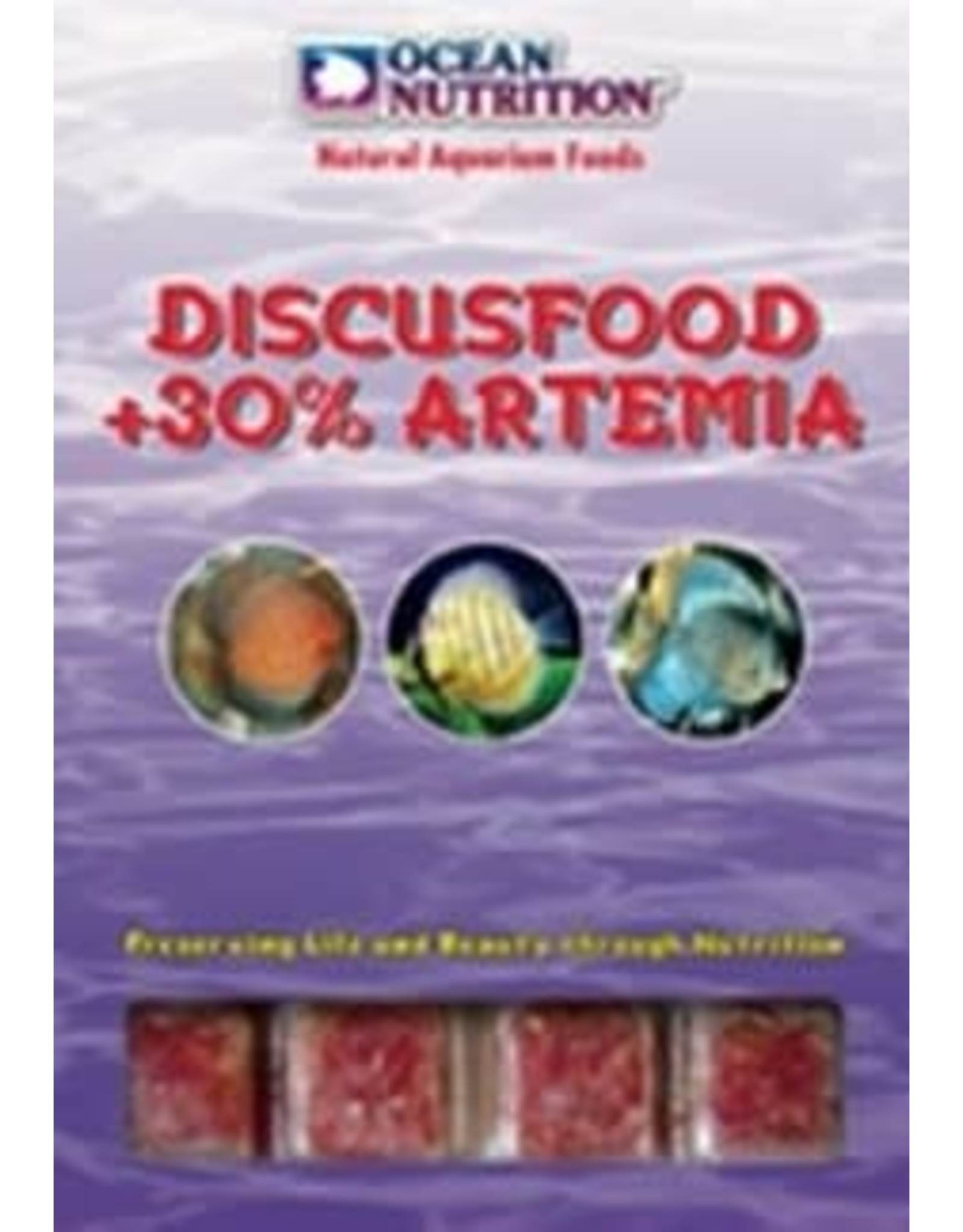 Ocean Nutrition discusvoer + 30% artemia 100gr