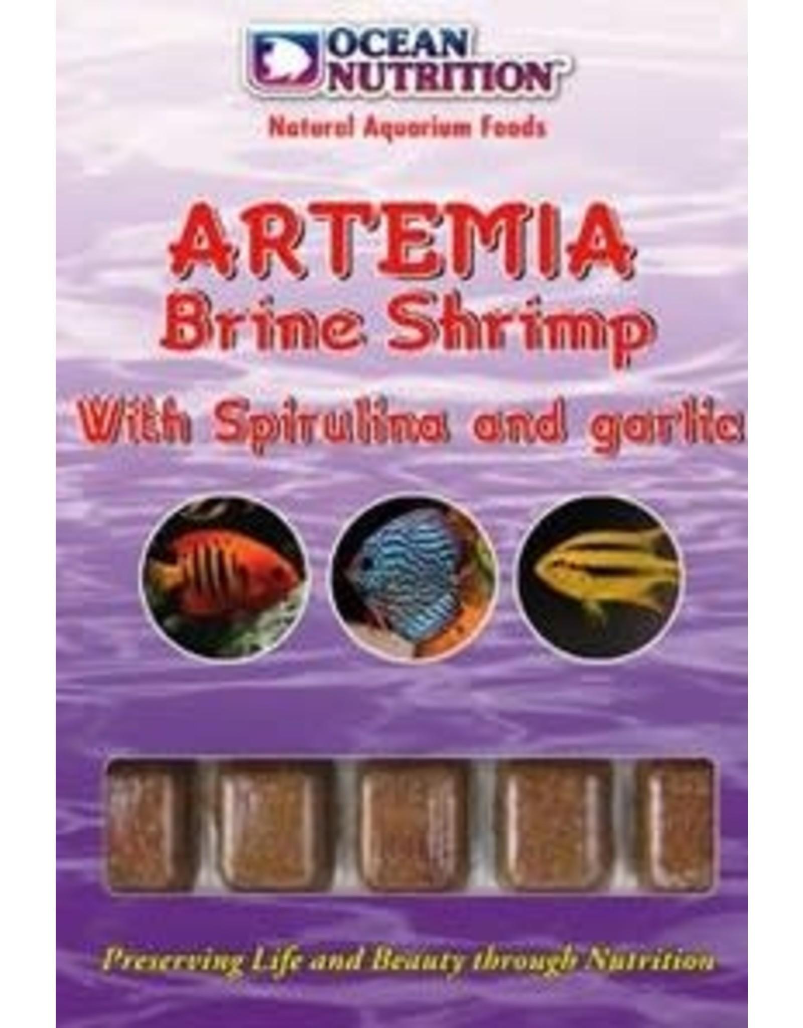 Ocean Nutrition Artemia met spirulina en bevroren knoflook