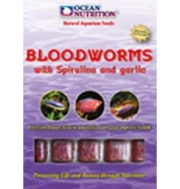 Ocean Nutrition Red Bloodworms with Spirulina and Garlic