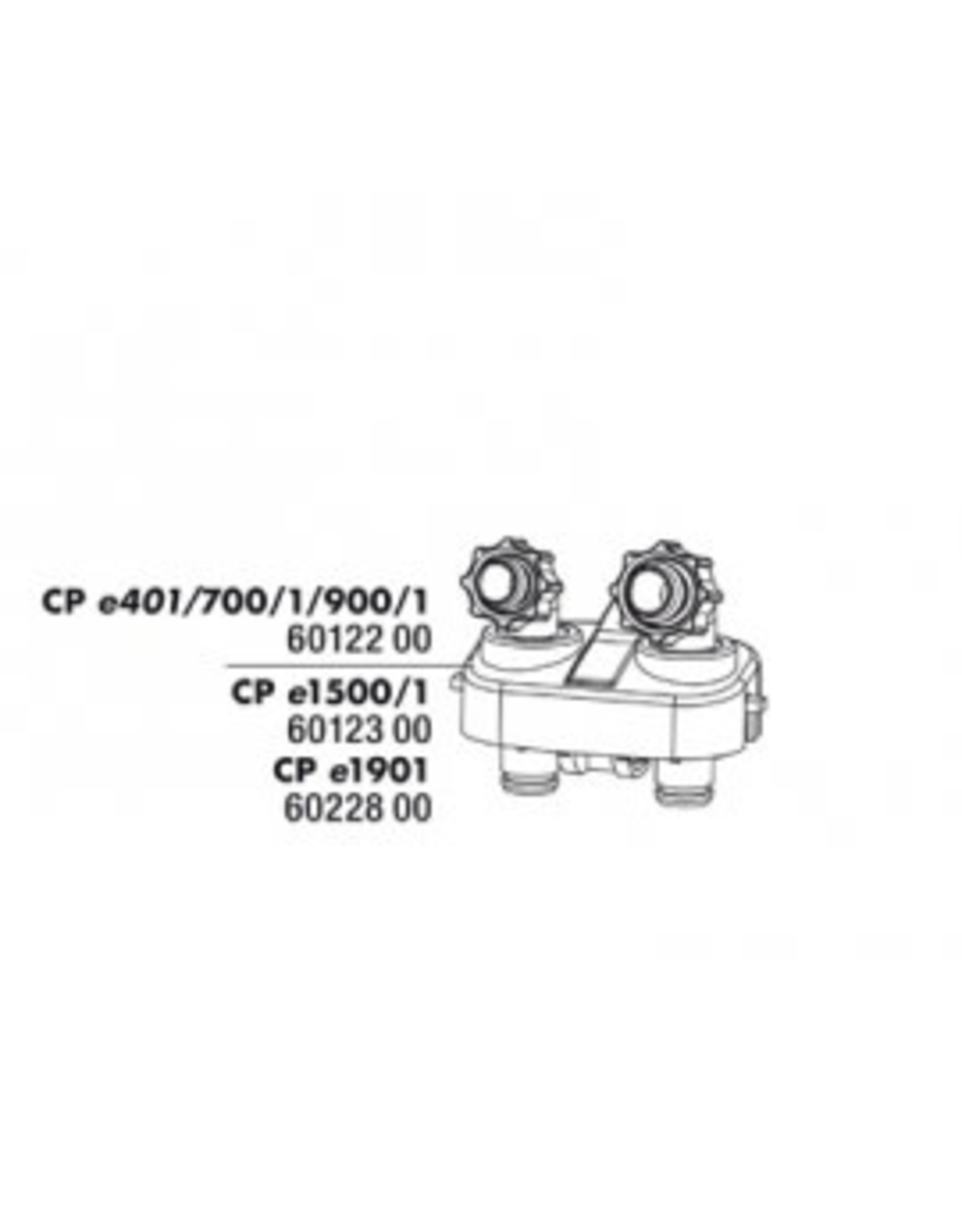 JBL Bloc de raccordement tyaux JBL CP serie e