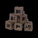 Bubba Ceramic cubes