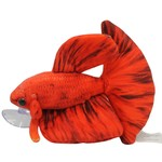 Ceramic Nature Peluche Betta rouge - 17x7x14cm