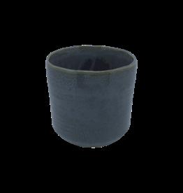 NLS Cache pot cér. 11x10,5h gris