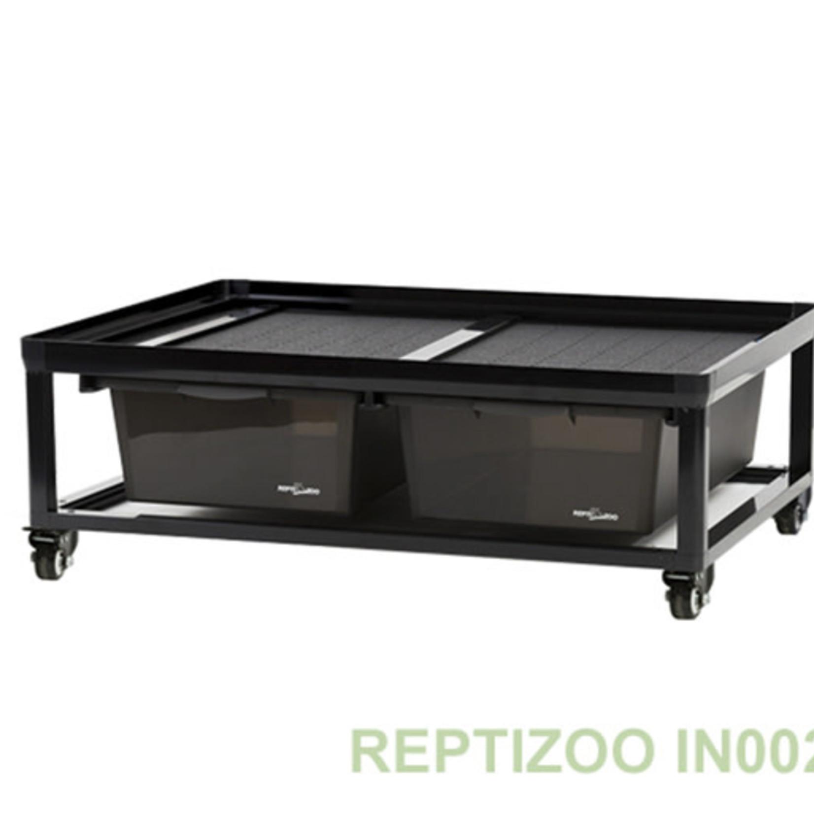 ReptiZoo Casiers par 2 avec roulettes 609x459x233mm