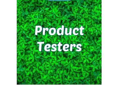 Testers die onze producten hebben getest