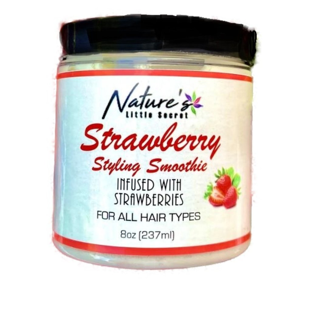 Nature's Little Secret Strawberry Styling Smoothie, 237 ml