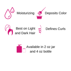 Gemini Naturals Gemini Naturals Get Hued Hair Color Make-up, Cranberry